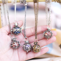 Angel caller pendant Maternity necklace Pregnancy necklace Harmony ball necklace wishing pendant