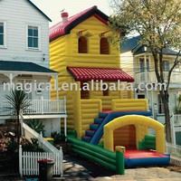 Hot Giant Inflatable bounce house,View Hot Giant Inflatable bounce house,Magical Product Details from Guangzhou Magical Inflatable Co., Ltd. on Alibaba.com