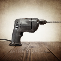 Vintage Tools Electric Power Drill