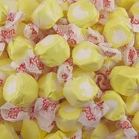 Lemon Meringue Salt Water Taffy 1/2 lb
