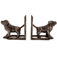 Dog Cast Iron Bookend Set | Hobby Lobby