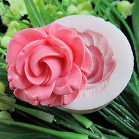 One Hole Flower Silicone Mold Fondant Molds Sugar Craft Tools Resin flowers Mould For Cakes heart shape cake mold flower baking mold