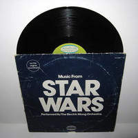 Vinyl Record Album Music From Star Wars  by JustCoolRecords