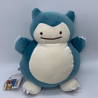 """s Ditto Transform into Snorlax Plush Soft Toy Doll Warm Hands Bag 13""""Kawaii Pokemon go  AT_89_9"""