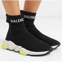 Balenciaga Popular Woman Men Comfortable Breathable Knit Sneakers Running Socks Shoes I-ALS-XZ
