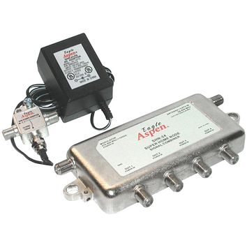 Eagle Aspen Signal Combiner And Amplified 4-way Splitter