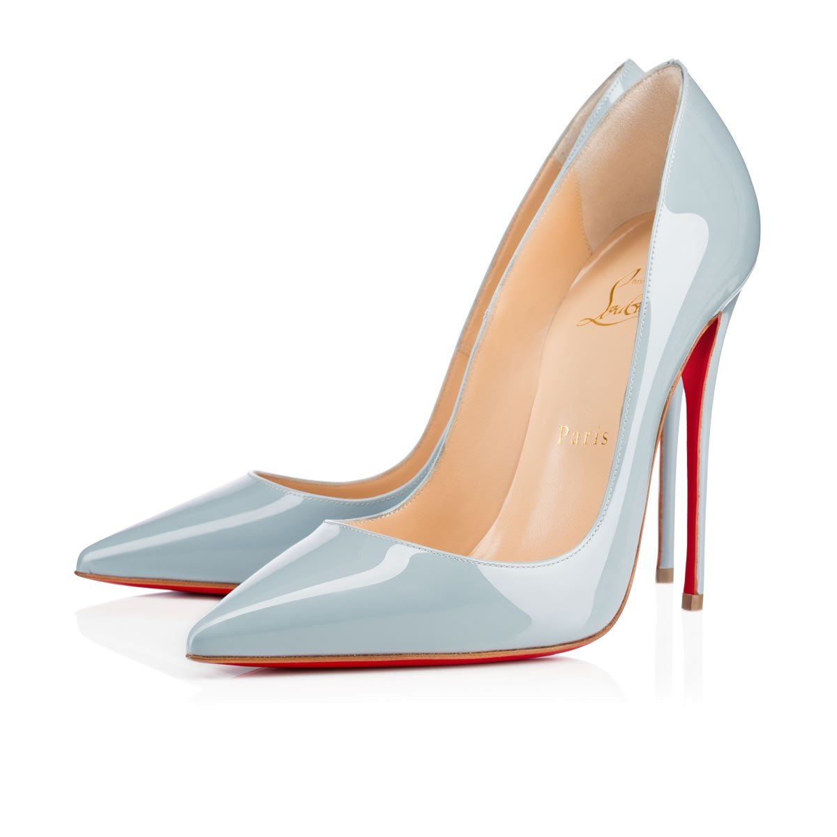Image of Christian Louboutin New pointed high heels   3.13
