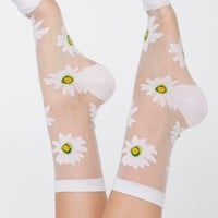 rsasksh - Sheer Patterned Sock