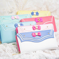 6 Colors Sailor Moon Series Wallet Can Pack IPhone 6 SP152319