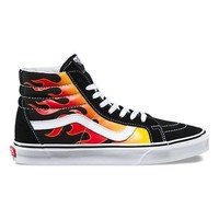 Vans Flame SK8-HI - Vans BLACK/BLACK/TRUE WHITE