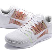 Nike Kobe XI Elite White Basketball Trainers Size US7-12