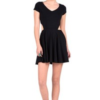 Volcom 'Time to Dance' Cutout Lace Back Dress | Nordstrom