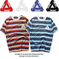 Palace Stripes Short Sleeve T-shirts [419618160676]