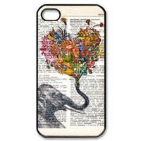 Elephant Design Hard Case Cover Skin for iphone 4 4s:Amazon:Cell Phones & Accessories