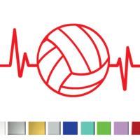 Heartbeat Volleyball (SET OF 2)