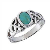 turquoise jewelry.sterling silver ring.turquoise ring.gem ring.december birthstone.sterling silver.gift for her.mothers day (Turquoise Ring)