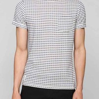 Native Youth Gingham Textured Knit Tee-