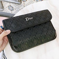 Dior New fashion leather crossbody bag shoulder bag women Black
