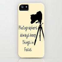 Photographers iPhone & iPod Case by  Alexia Miles photography