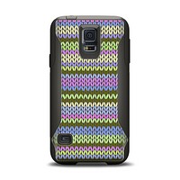 The Colorful Knit Pattern Samsung Galaxy S5 Otterbox Commuter Case Skin Set