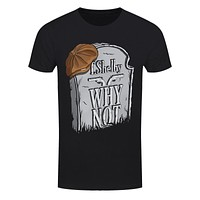 Tommy Shelby Gravestone Men's Black 2018 New Pure Cotton Short Sleeves Hip Hop Fashion Mens T-Shirt