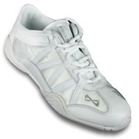 Nfinity Adult Evolution Cheer Shoes, White, 8
