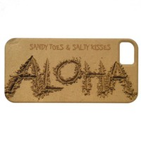 ALOHA iPhone, Sandy Toes & Salty Kisses from Zazzle.com