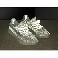 Yeezy 350 Boost V2 Static Refective Sneakers Women Men Casual Sport Shoes