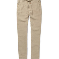 Hartford Relaxed-Fit Linen Trousers | MR PORTER