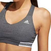 adidas Women's Ace 3-Stripes Sports Bra | DICK'S Sporting GoodsProposition 65 warning iconProposition 65 warning icon
