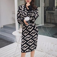FENDI Women Long Sleeve Dress