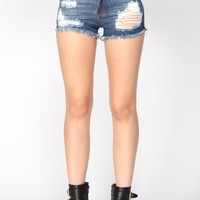 Laguna Shorts - Dark Wash