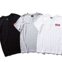 VANS 2019 new sports and leisure round neck T-shirt top