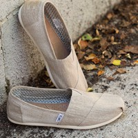 TOMS Natural Texture Blocked Shoe