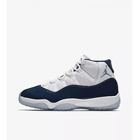 Nike Air Jordan 11 Retro Win Like 82 Men Sneakers Basketball Shoes Sport Sneakers