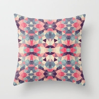 Poison Apple Tribal Throw Pillow by Beth Thompson