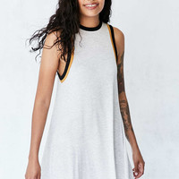 Silence + Noise Tri-Color Ringer Tee Dress - Urban Outfitters