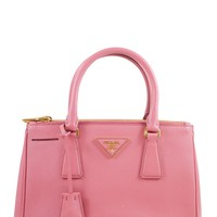 Prada Mini Pink Lux Saffiano Crossbody Bag