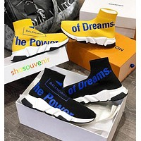 Balenciaga Woman Men Boots Fashion Breathable Sneakers Running Shoes-10