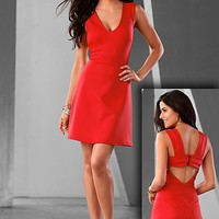 RED Bow back dress from VENUS