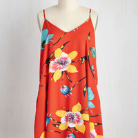 On the Lush-Lush Dress in Hibiscus | Mod Retro Vintage Dresses | ModCloth.com
