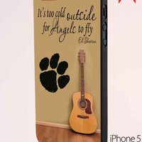 Ed Sheeran Guitar And Song Quotes iPhone 5 Case