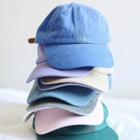 UO Curved Brim Baseball Hat | Urban Outfitters