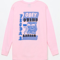 OBEY Visual Stimulation Long Sleeve T-Shirt at PacSun.com