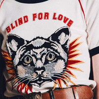 Gucci T-Shirt With Cat