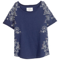 Top with Printed Design - from H&M
