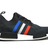Adidas NMD PK R1 Tri Color Stripes Black