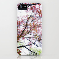 Fall Up iPhone Case by Young Swan Designs | Society6