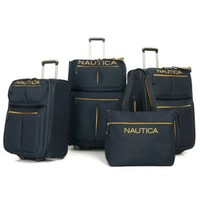 Nautica® Maritime II 4-Piece Expandable Rolling Luggage Set