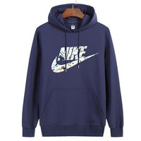 Nike Women Man Fashion Print Sport Casual Top Sweater Pullover Hoodie-79